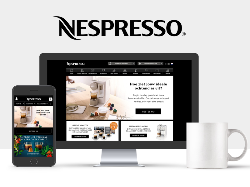 Nestlé Nespresso - Manager E-commerce Benelux – Freelance E